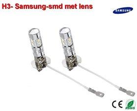2x H3-2323 Samsung (12v) 340 lumen Wit