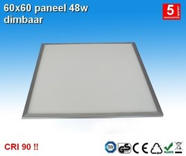 LED paneel 60x60 48w Cool-Wit CRI90 !