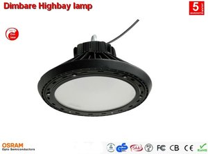 Dimbare Highbay industrie lamp 100w AC-line - Cool-wit 13.000 lumen