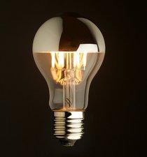 E27 Vintage Spiegelkop Led lamp 3,5w Warmwit Dimbaar
