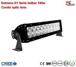 Extreme 10 inch D1-ledbar 100w Combi Ar Optics