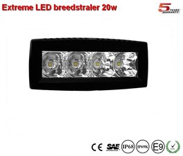 Extreme 4 inch breedstraler 20w - Ar Optics - 2.200 lumen