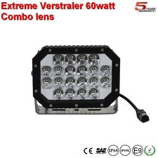 Extreme 6 inch ledlamp 60w Combi Ar Optics