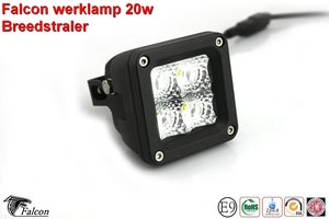 Falcon Werklamp 20w- Breedstraler