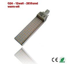 PL-G24d-12w-2835smd warm-Wit 1180 lumen