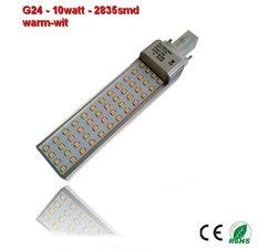 PL-G24d-10w-2835smd Warm-Wit 1010 lumen