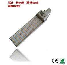 PL-G23-10w-2835smd Warm-Wit 1010 lumen