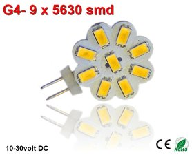 G4 led 9smd 5630 Warmwit (225 lumen)