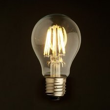 E27 Vintage led lamp 6w Warmwit dimbaar warm-wit