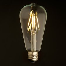 E27 Vintage ST64 Led lamp 4w Gold-warmwit Dimbaar