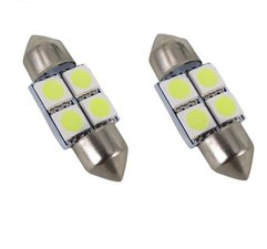 2x Buislamp 31mm 4SMD coolwit