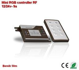 Mini-RGB controller + Afstandsbediening RF gestuurd