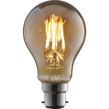 B22 Vintage Led lamp 3,5w Gold-warmwit Dimbaar