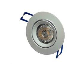 Inbouwspot AC-COB 7w CRI90 Warm-wit  Dimbaar wit
