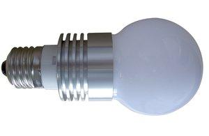 E27 ledlamp 3watt Warmwit Bol