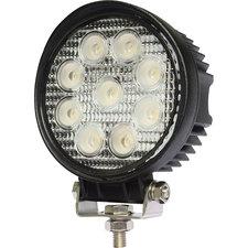 LED werklamp rond 27watt Lens: 60gr 2200lumen