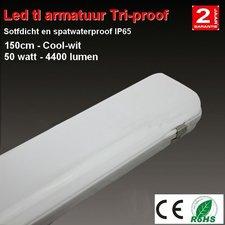 Tri-proof IP65 150cm TL armatuur LED 50watt - 4400 lumen Cool-wit