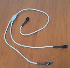 Split kabel voor led werk lampen