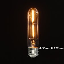 E27 Vintage Ledbuis lamp 2w Gold-warmwit Dimbaar