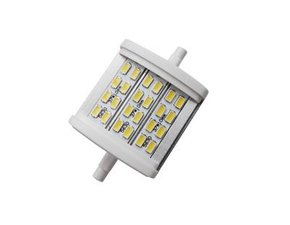 R7s LED lamp -78mm-8w- Warm-wit