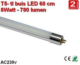 60cm LED TL lamp T5 - 8watt - 780 lumen Cool-wit