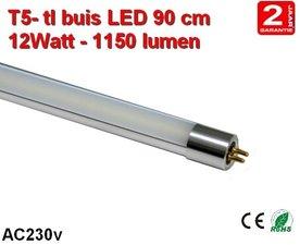 90cm LED TL lamp T5 - 12watt - 1150 lumen Cool-wit