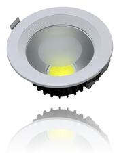 Downlight COB 12w Warm-wit 1200 lumen