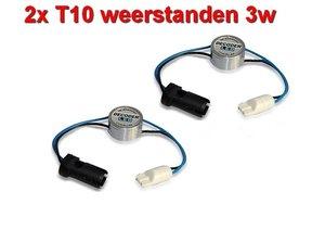 2 Resistors voor T10 LED lampen