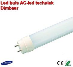 LED TL buis 150cm met AC led Dimbaar Natural-wit