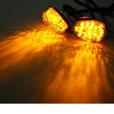 LED oranje knipperlichten motor Smoke