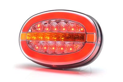 LED Neon Ovaal Achterlicht dynamisch 12v/24v E-keur