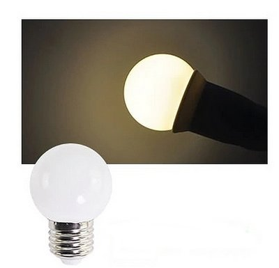 E27 Party ledlamp 1,5 watt warmwit Mini IP65