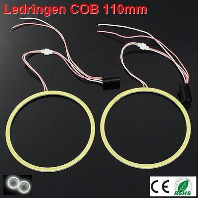 2 Ledringen COB 110mm Cool-wit