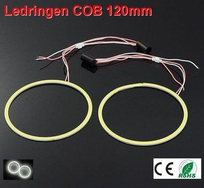 2 Ledringen COB 120mm Cool-wit