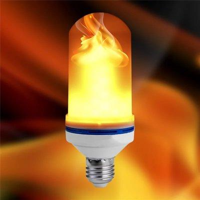 E27 Ledlamp vuurlamp 6watt