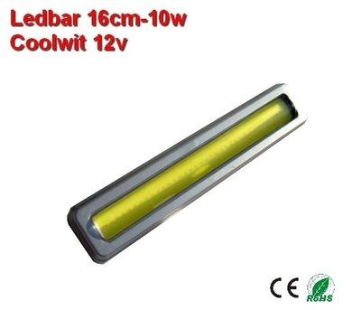 DRL Led bar 16cm Cool-wit COB