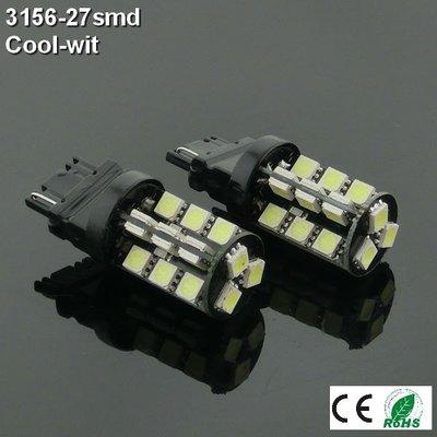 2x 12v 3156-27 SMD wit