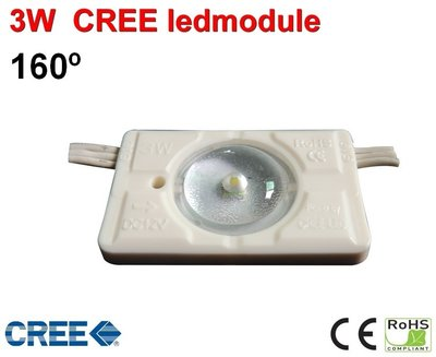 3x Led Modules 160gr Coolwit 3Watt CREE Ip65