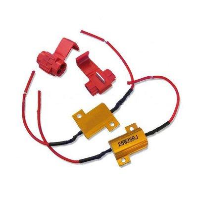 2 Resistors 25W 25ohm voor LED lampen