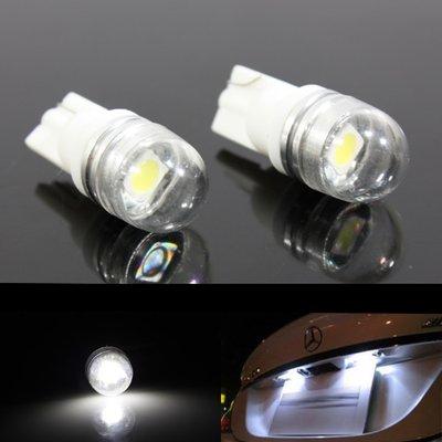 2x T10-1SMD Wit (30 lumen)