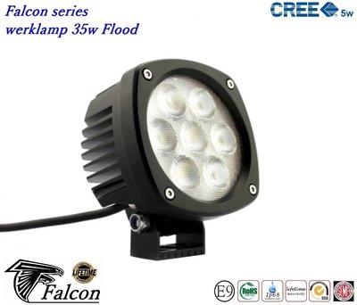 Falcon Werklamp 4,3inch 35w- Breedstraler
