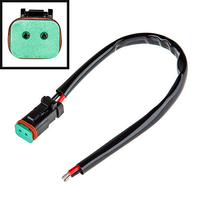 DT connector kabel 20cm met  DT connector Male