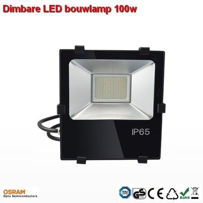 100w Dimbare bouwlamp AC-led Cool-wit 10.000 lumen