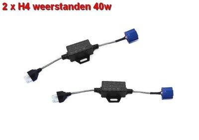 Digitale decoder voor canbus H4 ledlampen