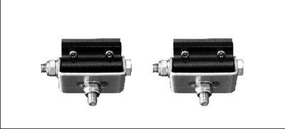 2 x Bodembevestiging D1 ledbars
