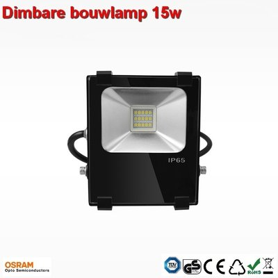 15w Dimbare AC- led bouwlamp  Cool-wit