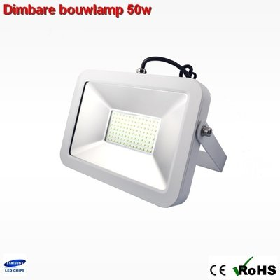 Dimbare led bouwlamp 50w ipad-design Cool-wit