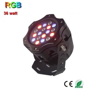Led RGB 36w Gevellamp 230volt