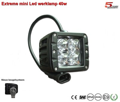 Extreme 40w Led Breedstraler AR Optics - 3.200 lumen