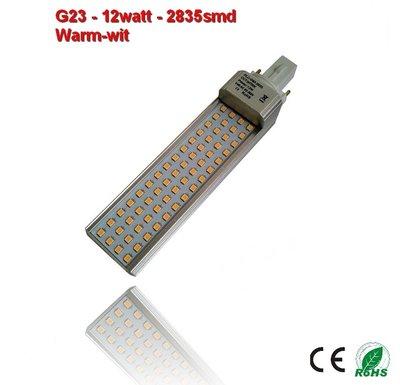PL-G23-12w-2835smd warm-Wit 1180 lumen